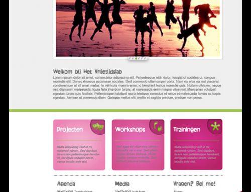 Website Vrijetijdslab