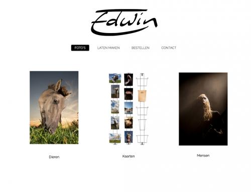 Webontwikkeling Edwin Smits – Fotografie